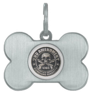 2nd Amendment Medal.png Pet ID Tag