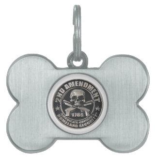 2nd Amendment Medal.png Pet Name Tags