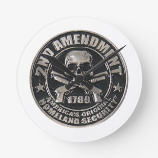 2nd Amendment Medal.png Round Clock