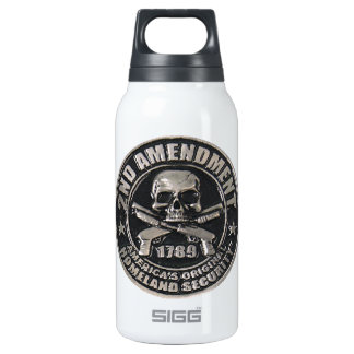2nd Amendment Medal 10 Oz Insulated SIGG Thermos Water Bottle