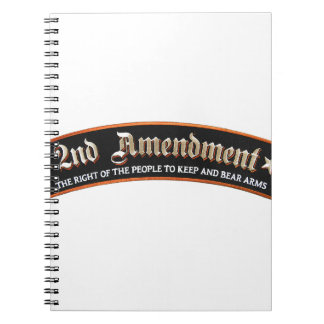 2nd amendment notebook