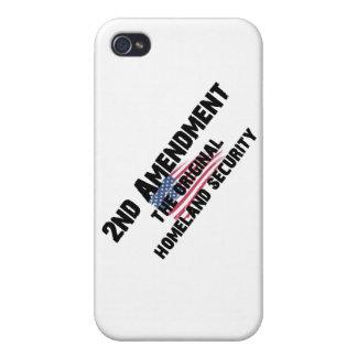 2nd Amendment - Original Homeland Security iPhone 4 Case