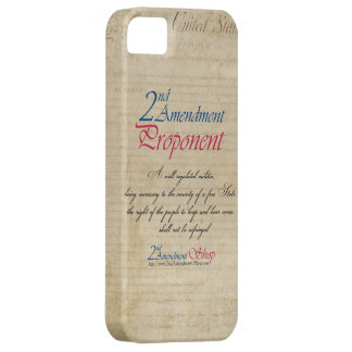 2nd Amendment Proponent cell phone cases