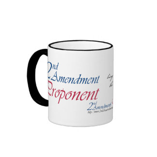 2nd Amendment Proponent mugs