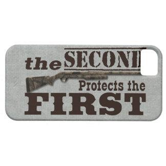 2nd Amendment Protects 1st Amendment iPhone 5 Covers