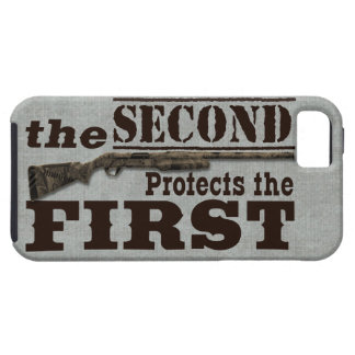 2nd Amendment Protects 1st Amendment iPhone SE/5/5s Case