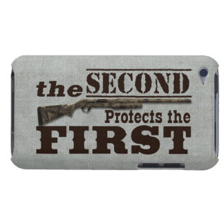 2nd Amendment Protects 1st Amendment iPod Case-Mate Case