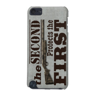 2nd Amendment Protects 1st Amendment iPod Touch (5th Generation) Cover