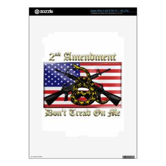 2nd Amendment Skins For iPad 3
