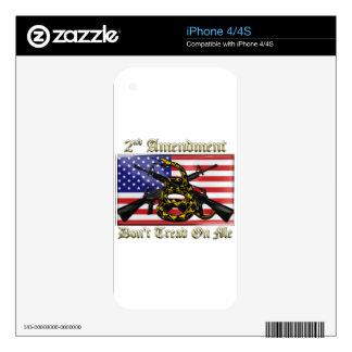 2nd Amendment Skins For iPhone 4
