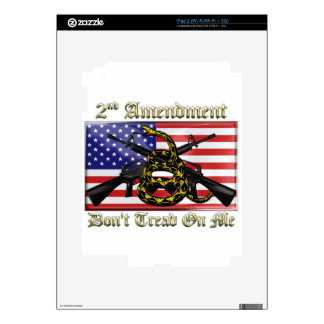 2nd Amendment Decals For The iPad 2
