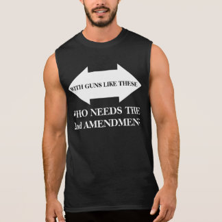 2nd Amendment. Sleeveless Shirt