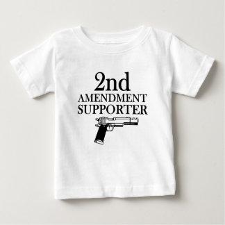 2nd AMENDMENT SUPPORTER - gun rights/constitution Baby T-Shirt