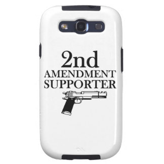 2nd AMENDMENT SUPPORTER - gun rights/constitution Galaxy S3 Cover