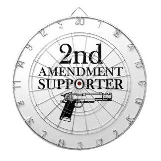 2nd AMENDMENT SUPPORTER - gun rights/constitution Dart Board