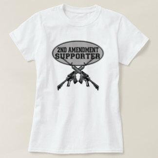 2nd amendment supporter t shirt