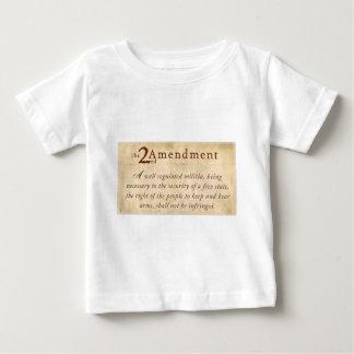 2nd Amendment Vintage Baby T-Shirt