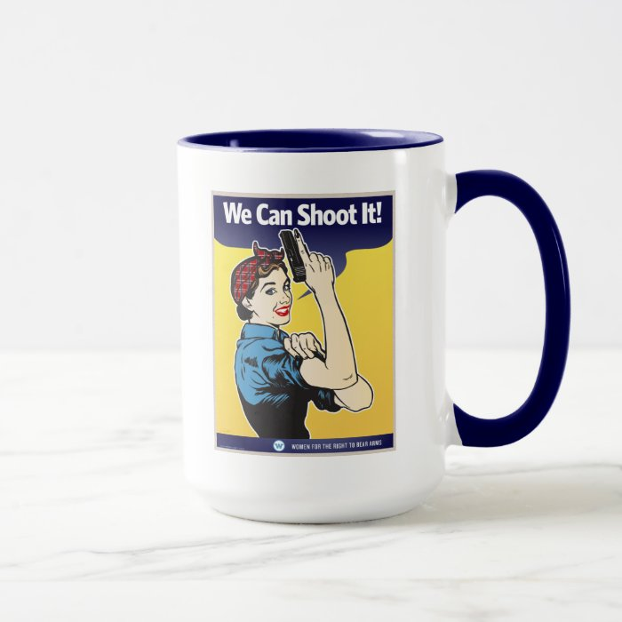 2nd Amendment Women Mug
