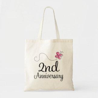 2nd Anniversary Budget Tote Bag