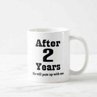 2nd Anniversary (Funny) Mugs