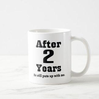 2nd Anniversary (Funny) Coffee Mug