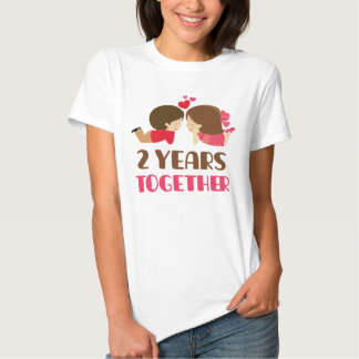 2nd Anniversary Gift For Her T-Shirt