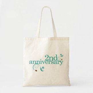2nd Anniversary Gift Tote Bag