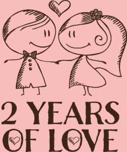 2 Year Anniversary Invitations Stationery Zazzle