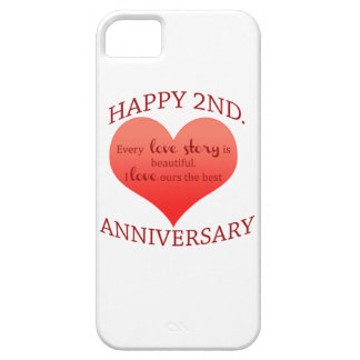 2nd. Anniversary iPhone SE/5/5s Case