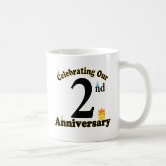 2nd Anniversary Coffee Mug