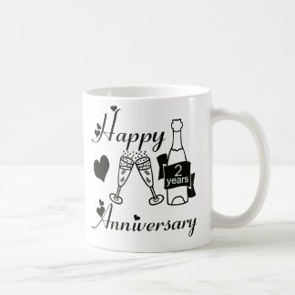 2nd. Anniversary Mugs
