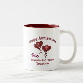 2nd. Anniversary Coffee Mug