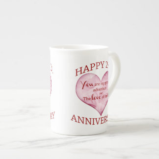 2nd. Anniversary Tea Cup