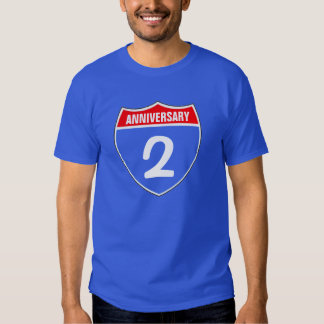 2nd anniversary t-shirt