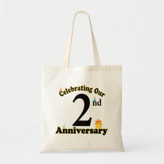 2nd Anniversary Tote Bag