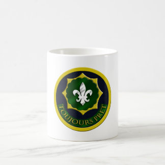 2nd Armored Calvary Regiment Classic White Coffee Mug