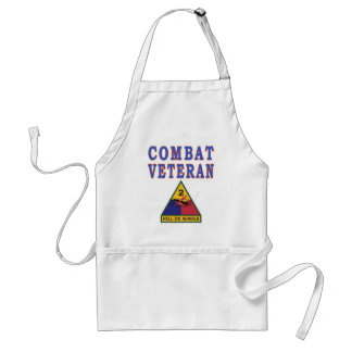 2nd ARMORED DIVISION Adult Apron
