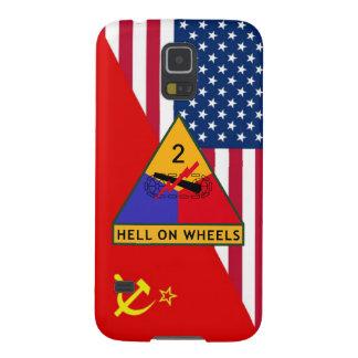 """2nd Armored Division """"Cold War"""" Paint Scheme Case For Galaxy S5"""