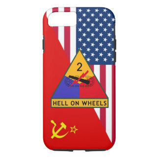 "2nd Armored Division ""Cold War"" Paint Scheme iPhone 8/7 Case"