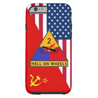 "2nd Armored Division ""Cold War"" Paint Scheme Tough iPhone 6 Case"