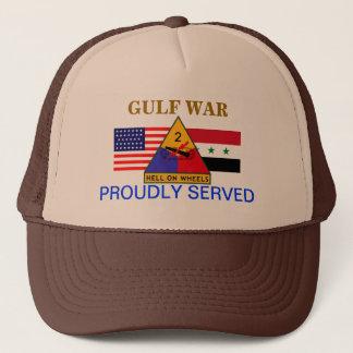 2ND ARMORED DIVISION GULF WAR HAT