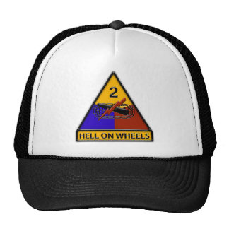 2nd Armored Division Hats
