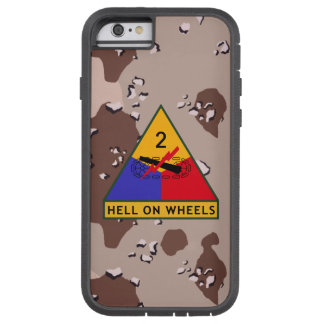 "2nd Armored Division ""Hell On Wheels"" Camo Tough Xtreme iPhone 6 Case"