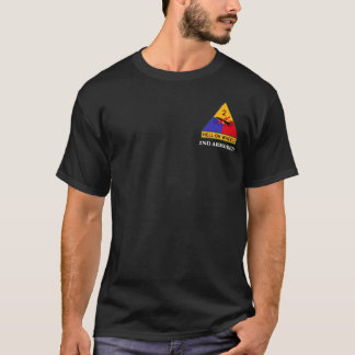 """2nd Armored Division """"Hell On Wheels"""" FURY T-Shirt"""
