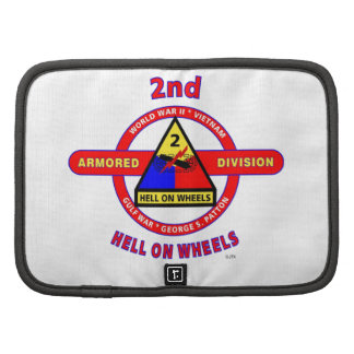 """2ND ARMORED DIVISION """"HELL ON WHEELS"""" PLANNER"""