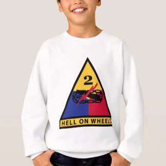 2nd Armored Division - HELL ON WHEELS Sweatshirt