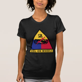 2nd Armored Division - HELL ON WHEELS T-Shirt