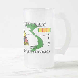 2nd Armored Vietnam frosted Mug