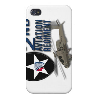 2nd Aviation Regiment - Apache Covers For iPhone 4