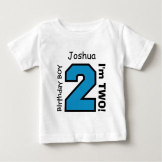 2nd BABY Birthday Big Sports Number A05. Baby T-Shirt